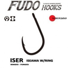 Carlig Fudo Iseama Ring black nickel