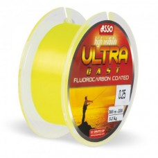 Fir Asso Ultra Cast Galben Fluo 150m 0,12mm 2kg