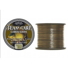 Fir Konger Team Carp Camou Dark 0,25mm 600m