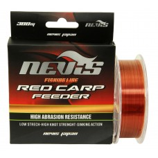 Nevis Monofilament Red Carp Feeder 150m 0,20mm