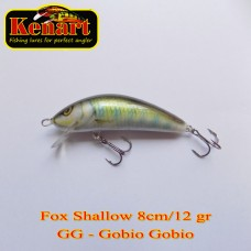 Kenart Fox Shallow 8cm 12gr Floating Gobio Gobio