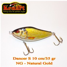 Dancer 10cm 35gr Sinking-Natural Gold